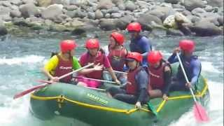 Whitewater rafting with Kagay, Cagayan de Oro, Philippines