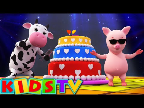 Happy Birthday Song  Birthday Song for Kids and Children's   Kids Tv Nursery Rhymes