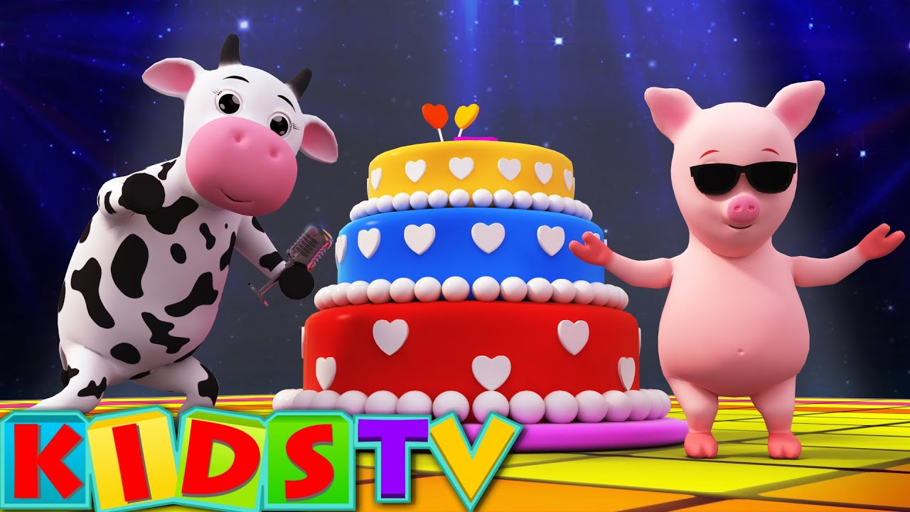 Happy Birthday Song Birthday Song For Kids And Childrens Kids