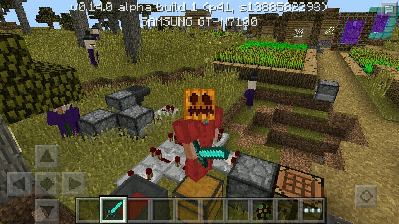 Майнкрафт build 4 0.14.0