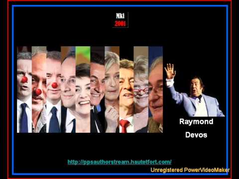 The 2012 French Presidential Elections (Raymond Devos)
