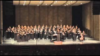 "UCLA University Chorus, ""Tenting Tonight,"" R. Lord Conductor"