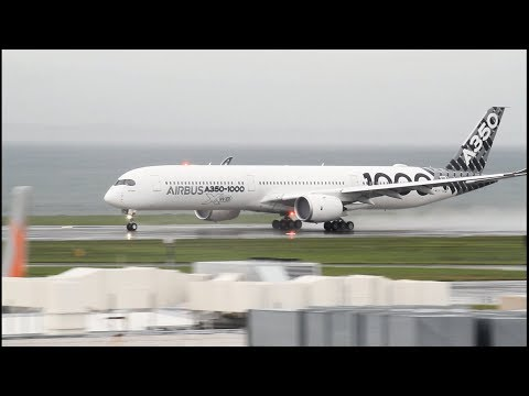Airbus A350-1000 Demo Flight Auckland