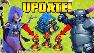 THREE INFERNO TOWERS!?  UPDATE SNEAK PEEK #2 Halloween 2018 Clan War Leagues Clash of Clans