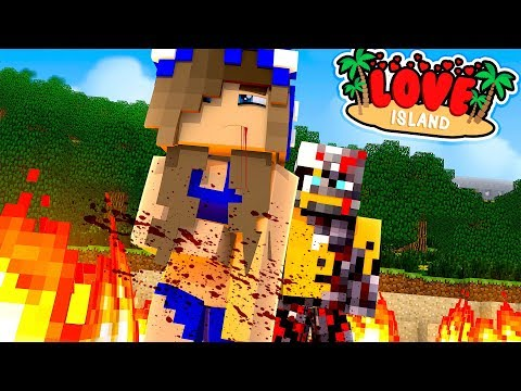 RAVEN THE ROBOT TRIES TO KILL THE CONTESTANTS!! w/Little Carly , Little Kelly(Minecraft Love Island)