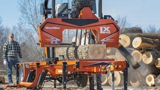 Wood-Mizer LX450 Twin Rail Portable Sawmill
