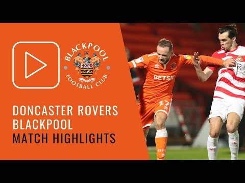 Highlights | Doncaster Rovers 2 Blackpool 0