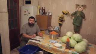 Квашеная капуста, простой рецепт от моей прабабушки(Простой рецепт квашеной капусты. Так квасила капусту моя прабабушка в конце 19, начале 20 веков. Легко, быстро,..., 2014-11-23T18:52:30.000Z)