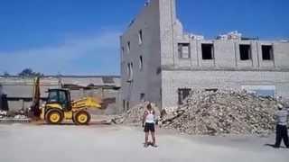 Демонтаж здания в Липецке (Неудачники)(, 2013-09-24T21:38:51.000Z)