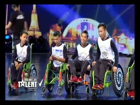 Thailand's Got Talent Season4-4D Audition EP1 5/6