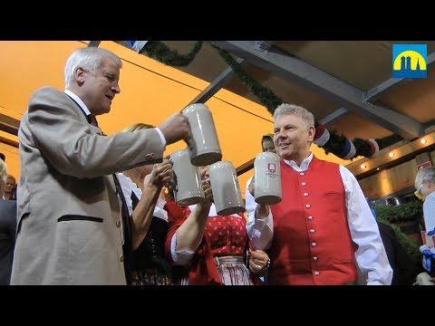 O'zapft is! - Der Anstich auf dem Oktoberfest 2017