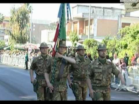 Alpini vipiteno bandiera di guerra 83 a adunata bergamo for Bandiera di guerra italiana