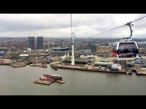 Emirates Cable car video