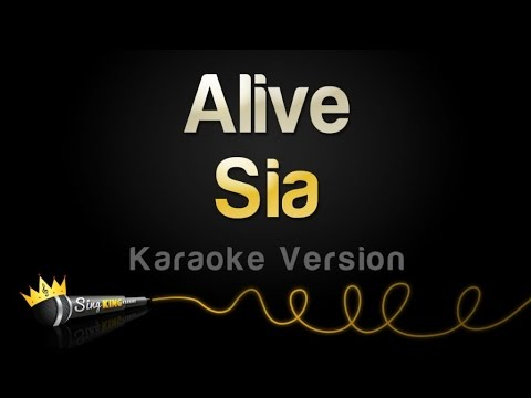 Sia - Alive (Karaoke Version)