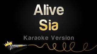 Sia - Alive (Karaoke Version)