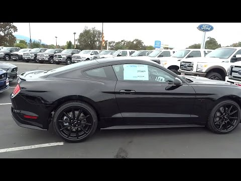 2016 ford mustang redding eureka red bluff northern california sacramento ca 16f145 - Ford Mustang 2016 Black