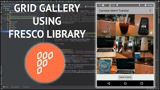 Performance optimisations for android applications - Grid gallery using Fresco library