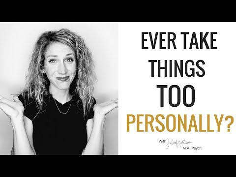 Thumbnail: How To Not Take Things Personally | Don't Get Offended