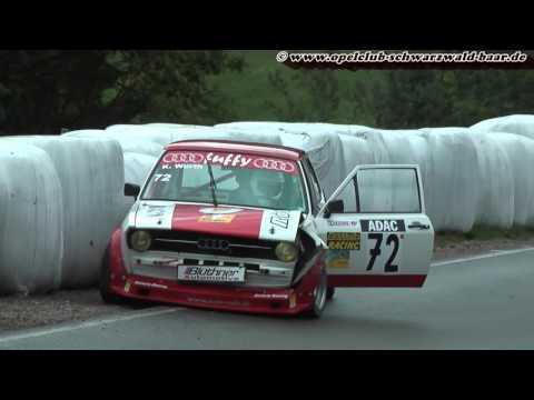 Slalom Schonach 2015 Audi 50 Crash