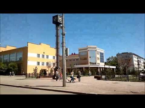 Караганда. улица Гоголя лето.