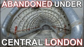 ABANDONED UNDER LONDON - Power still on in WW2 tunnels