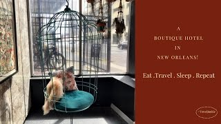 Moxy Hotel - Boutique Hotel In New Orleans- French Quarters/Travel Vlog
