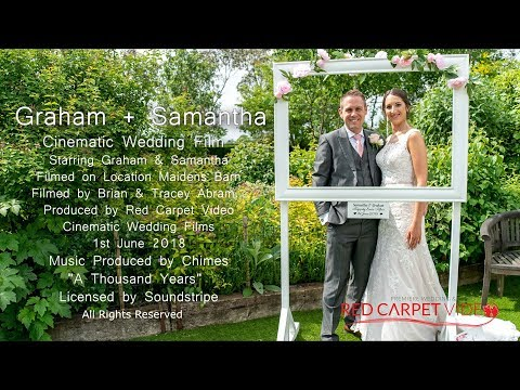 Maidens Barn Wedding Highlights - Graham & Samantha
