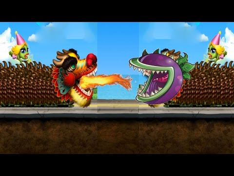 Zombie Tsunami vs Plants vs Zombies 2