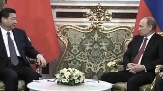 La Chine de Xi Jinping rencontre la Russie de Vladimir Poutine