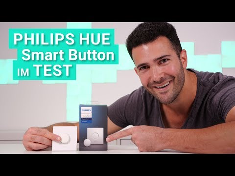 Der Philips Hue Smart Button im Test & Review - Das kann der kleine magnetische Lichtschalter