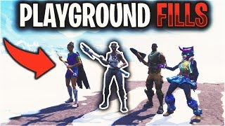 Playground Fill with the RAREST Fortnite Skin...