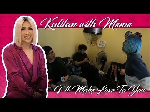 Behind the Scenes| Kulitan with Ganda | I'll Make Love To You