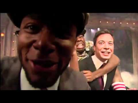 Mos Def yelling SWAG at the end of the OFWGKTA performance on Jimmy Fallon