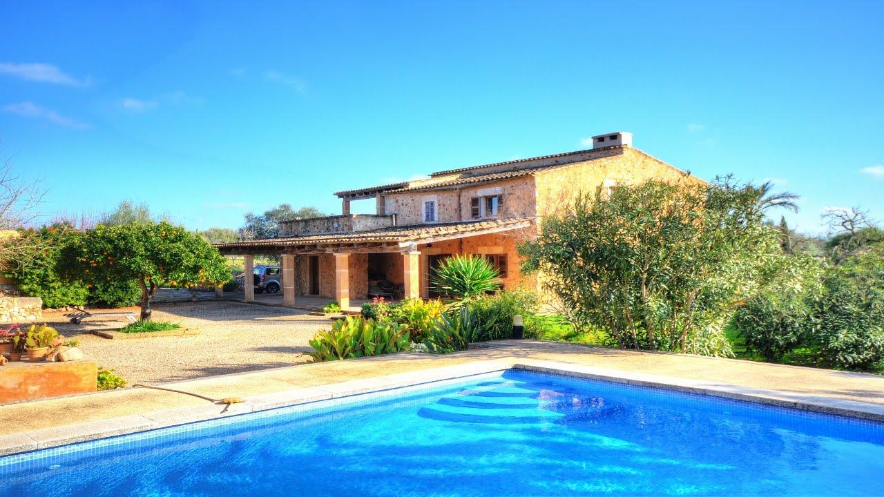 Aut ntica y confortable casa de campo con casa de - Casas de mallorca ...
