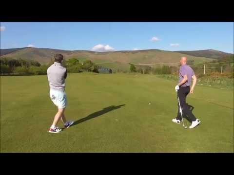 4 HOLE MATCHPLAY CHALLENGE- Jamie Allan Golf Vs Steve Johnston PGA