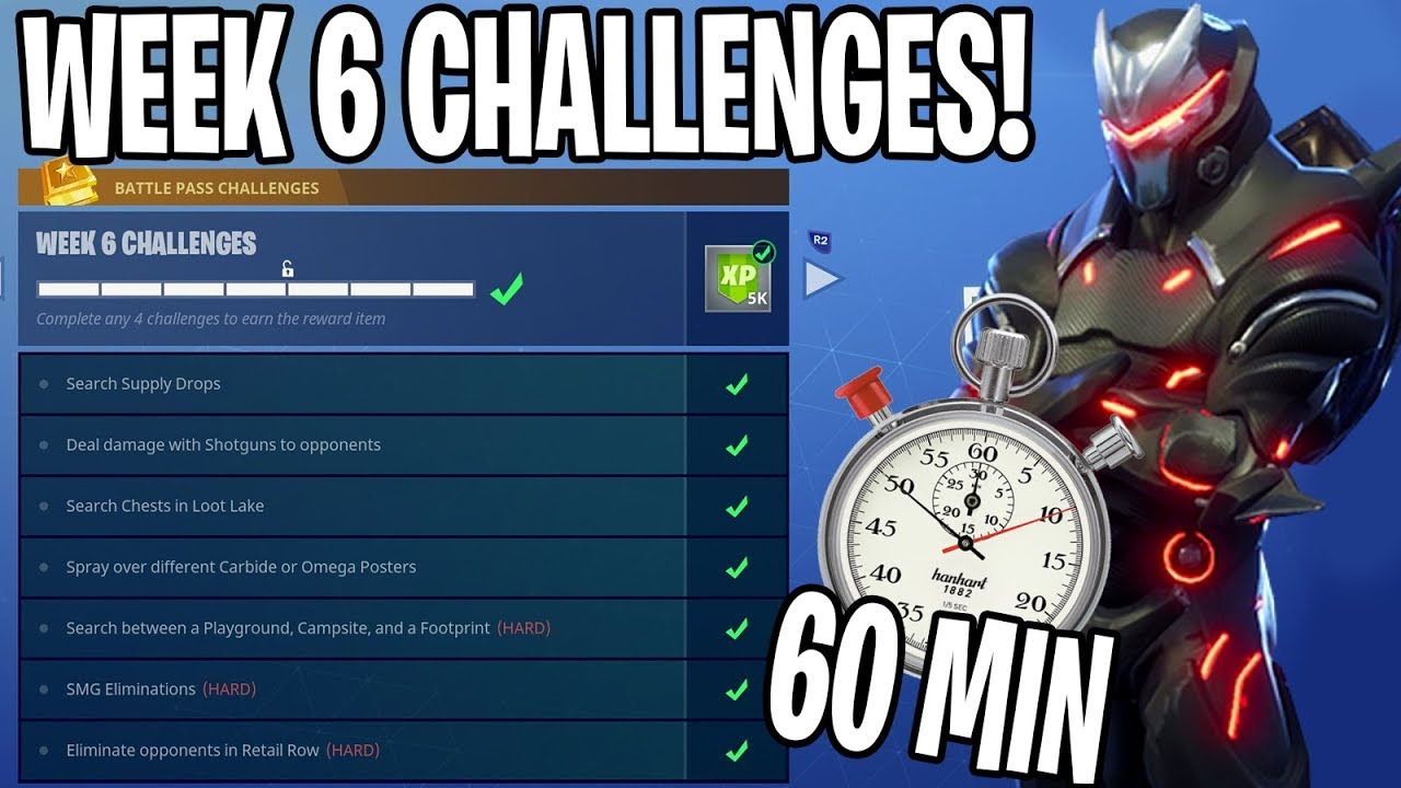 Video HOW I COMPLETED ALL OF WEEK 6 CHALLENGES IN UNDER 60 MINUTES!!