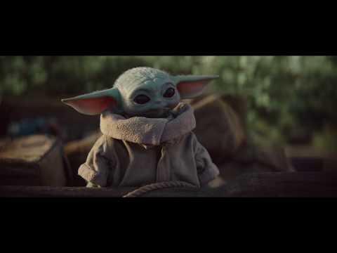 Малыш Йода покидает деревню Baby Yoda \ Мандалорец 1 сезон 4 серия