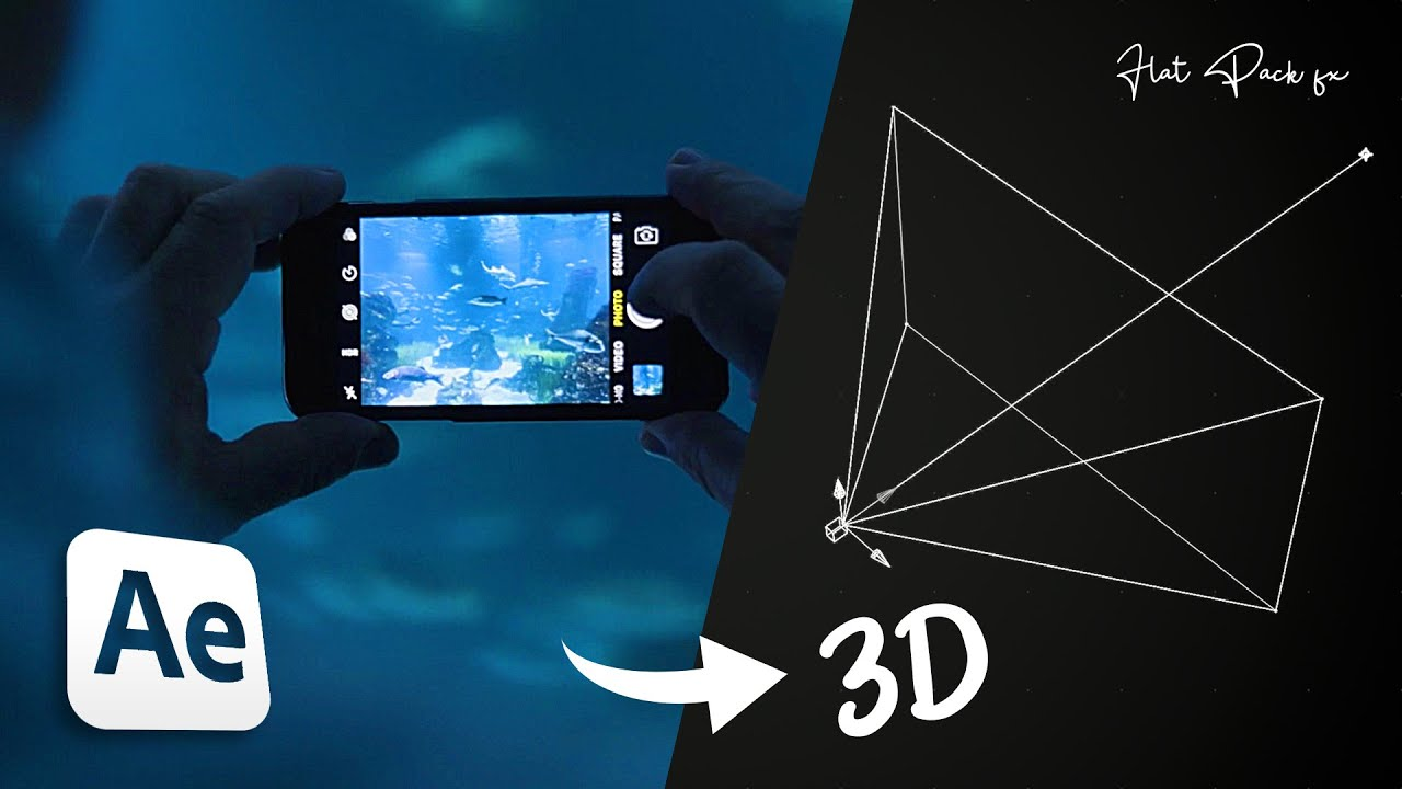 Create REALISTIC 3D Camera Movements for your shots!