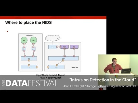 "Dan Lambright at BDF 2015 | ""Intrusion Detection in the Cloud"""