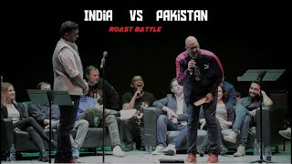 India vs Pakistan - roast battle - stand up comedy