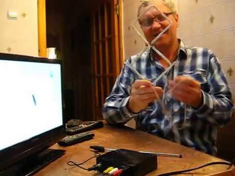 Как сделать антенну для цифрового телевидения фото 997