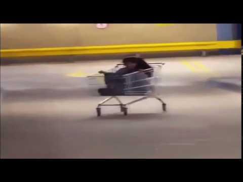 Shopping cart drift