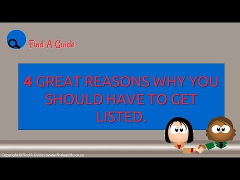 4 Great Reasons Why You Have To Get Listed ✔