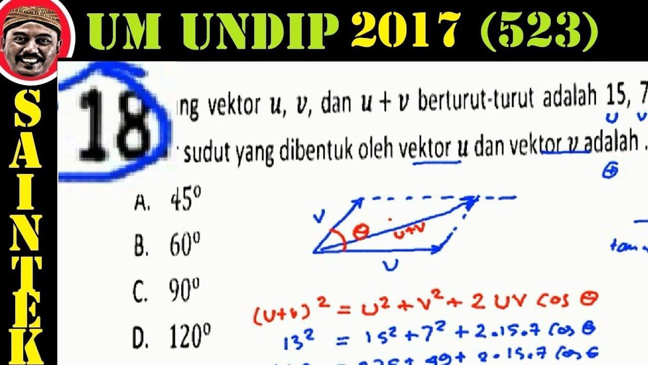 UM UNDIP 2017 Saintek 532 , Matematika Dasar, Pembahasan