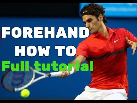 Tennis Tips - Forehand - RItennisacademy.com - Mario Llano - Learn How To Hit  a Forehand