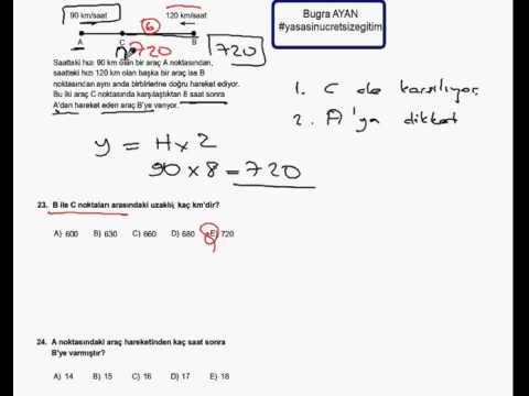 Pratik Matematik Sayısal Mantık Çözümleri 25 Dakika