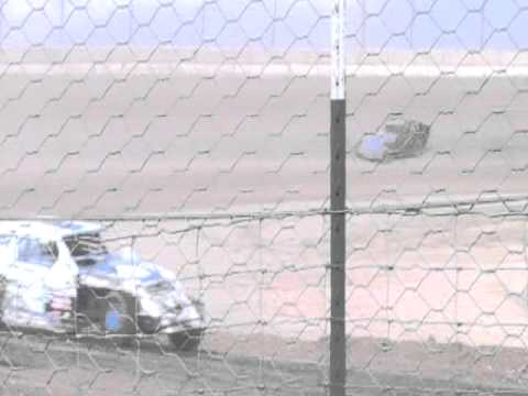 4-9-11 Jeff Elerick lovelock speedway imca modified main part 4