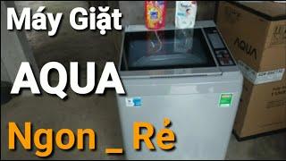 Máy Giặt AQUA 8Kg Cửa Trên AQWS80CT Rẻ Nhất//Máy Giặt Lồng Đứng Giá Rẻ Bán Chạy Nhất Thị Trường 2020