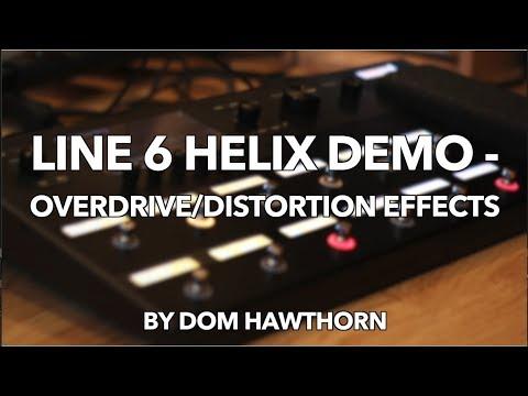 line 6 helix demo overdrive distortion effects youtube. Black Bedroom Furniture Sets. Home Design Ideas