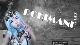 Pokimane's Lux Cosplay | Did She Feed? Midlane Lux | LoL Best Stream Moments